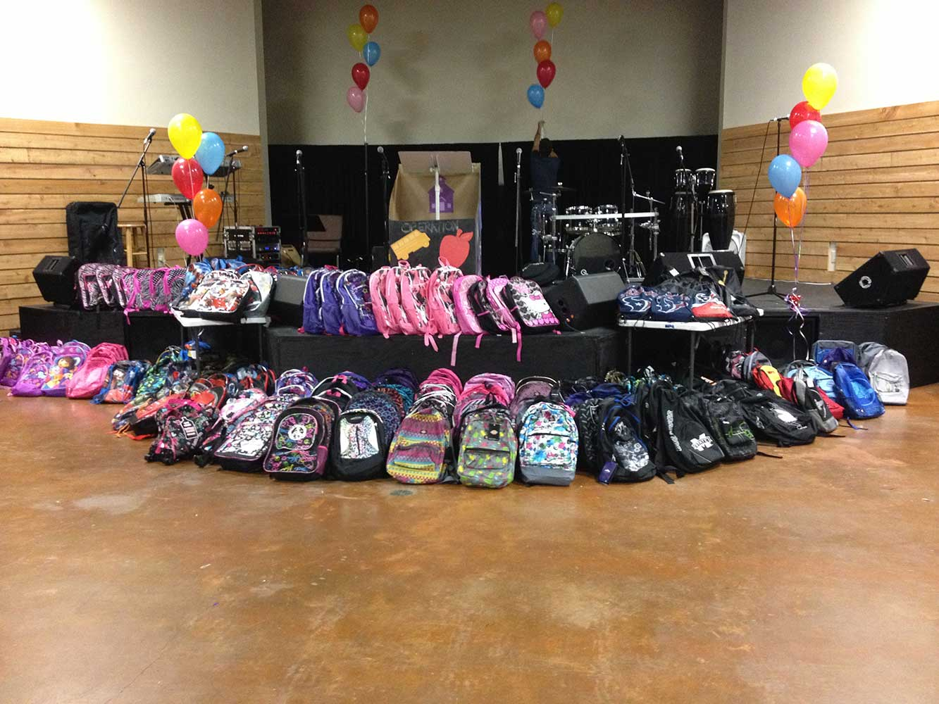 Operation Backpack Drop